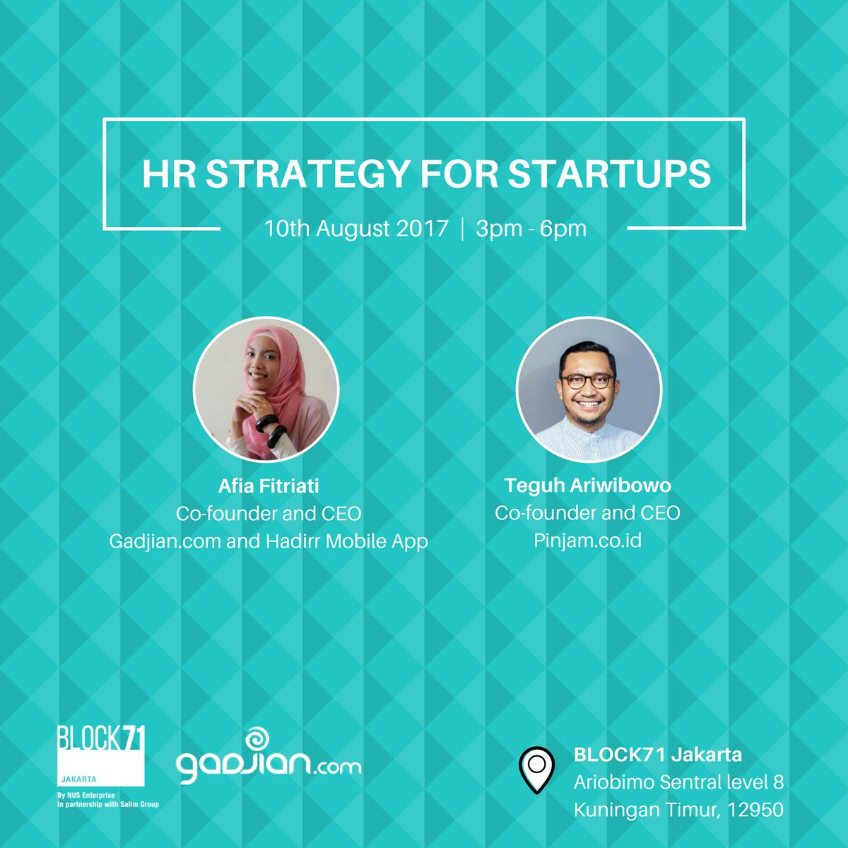 Cara Menyusun Strategi HR untuk Startup