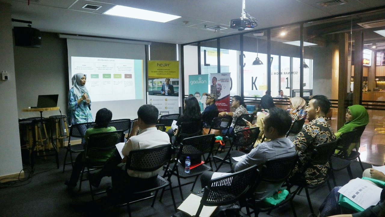 HR Event: Training Strategi HR untuk Startup Indonesia | Gadjian | 2