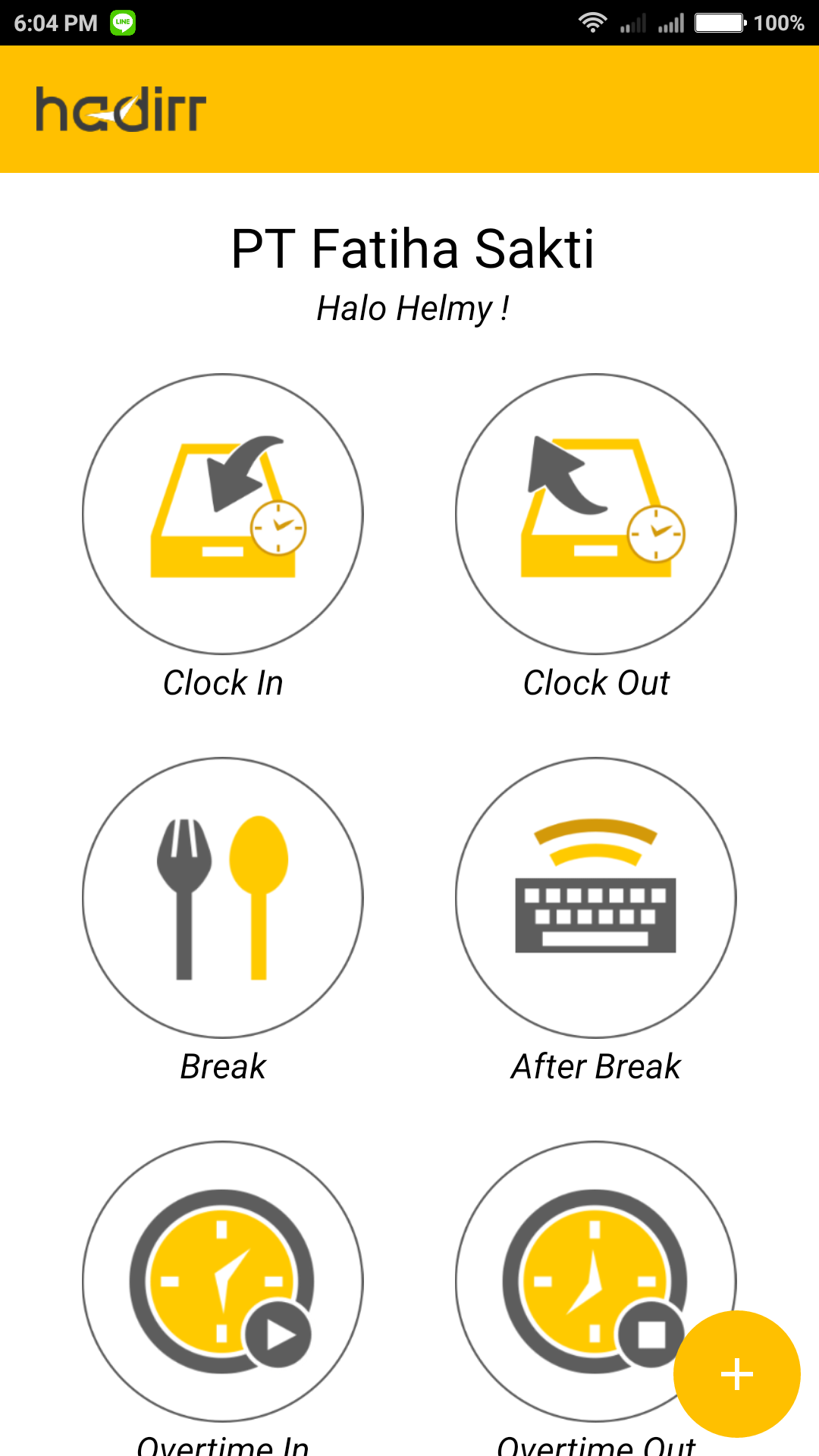 Aplikasi Absen Online Dengan Selfie Untuk Absensi Karyawan atau Mobile Employee | Gadjian | Hadirr