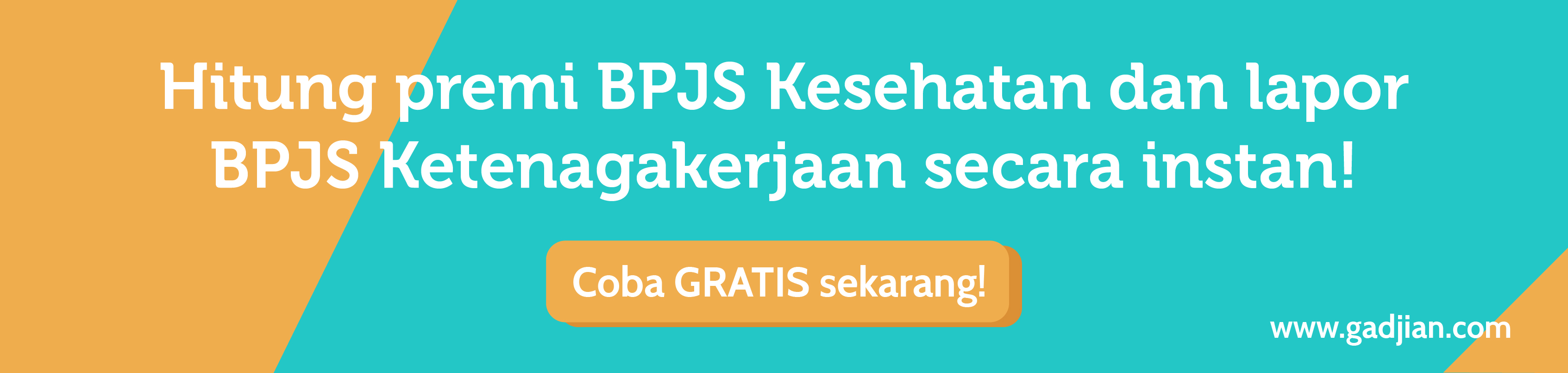 Hitung Premi BPJS Kesehatan dan lapor BPJS Ketenagakerjaan dengan Format SIPP BPJS secara Instan | Gadjian