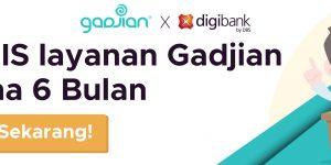 Kolaborasi Aplikasi HRIS Gadjian dengan Digibank by DBS | Gadjian
