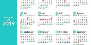 Kalender HR 2019: Kelola Pekerjaanmu untuk Setahun ke Depan! - Gadjian