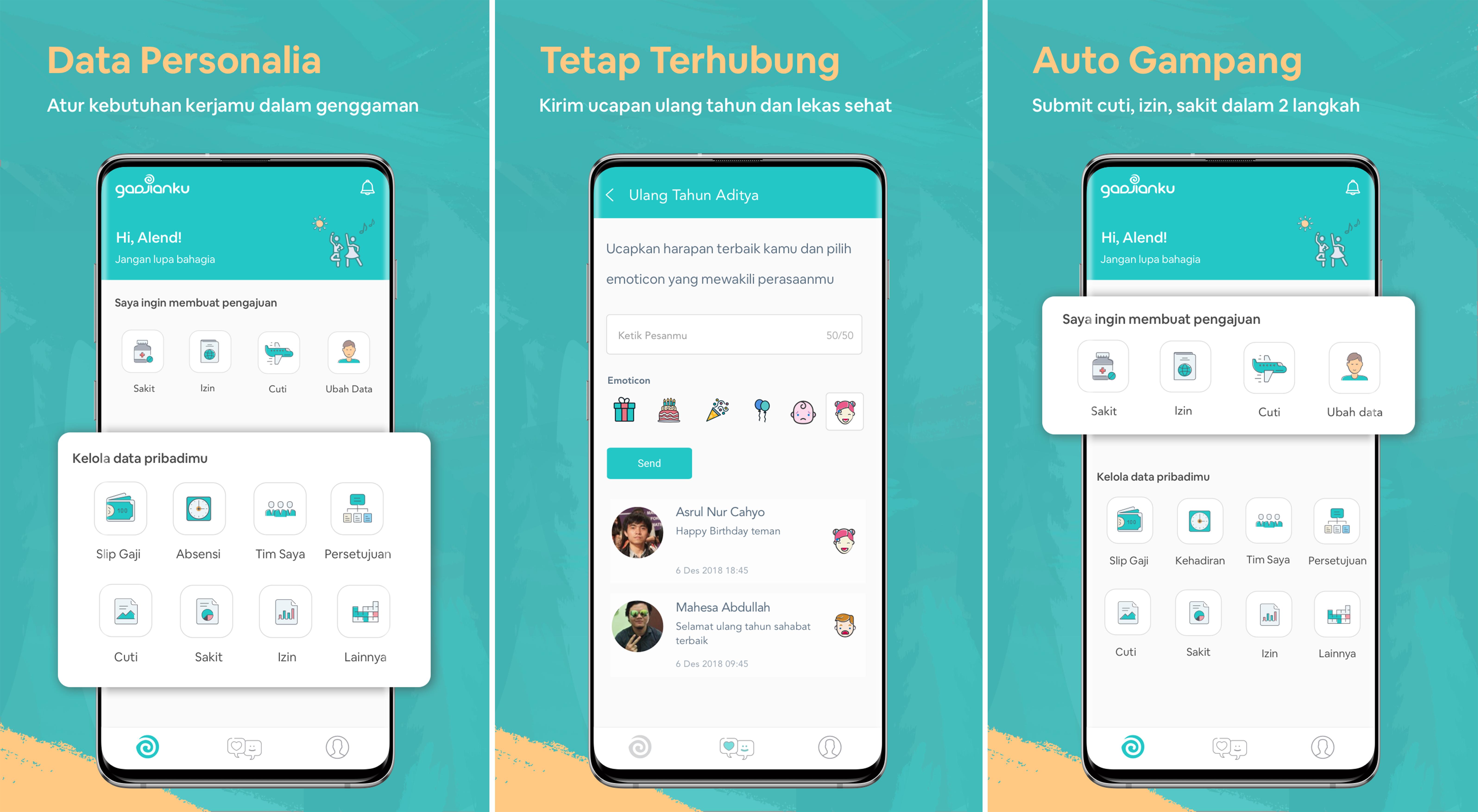 Aplikasi Karyawan GadjianKu dari Gadjian | Gadjian