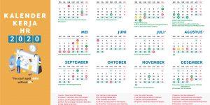 Kalender HR 2020 - Kelender Kerja HR 2020 - Kalender Libur Nasional - Cuti Bersama | Gadjian