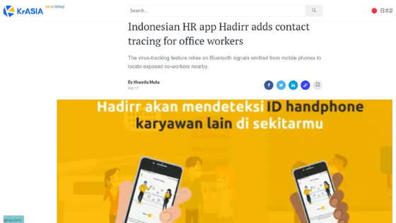 contact tracing for office