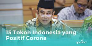 15 Tokoh Indonesia yang Positif Corona