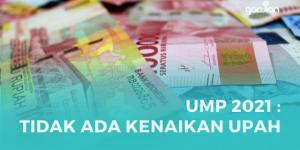 UMP 2021 Sah! Tidak Ada Kenaikan Upah bagi Karyawan
