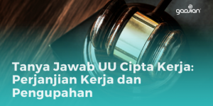 Tanya Jawab UU Cipta Kerja